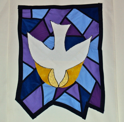 Dove Descending - Symbol of Peace and the Holy Spirit