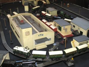 Trix Twin Model Railway Layout