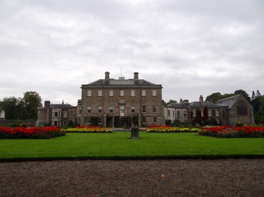 Haddo House from the formal gardens