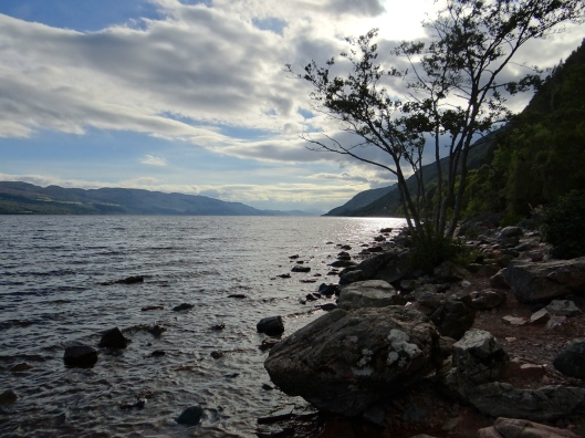 Loch Ness - Nessie is just outside of the frame.  I didn't want to spoil the view.