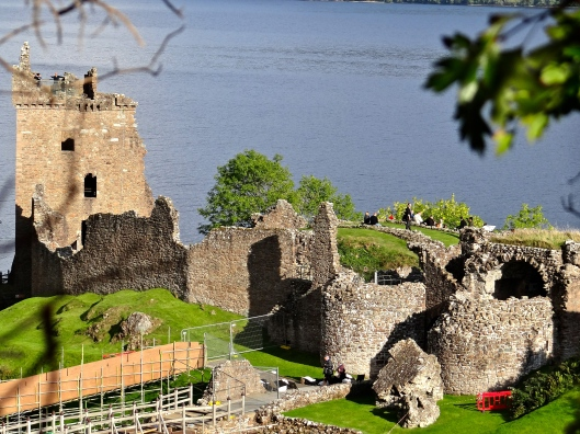 Urquhart Castle - not in the greatest shape now - maybe a starter castle or fixer upper - but location, location, location!