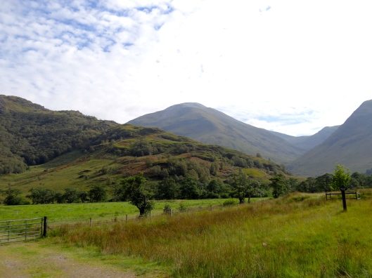 Just outside of Fort William is a beautiful trail along Glen Nevis