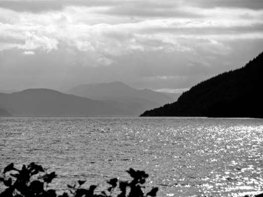 Loch Ness before Urquhart Castle (Photo by SKS)