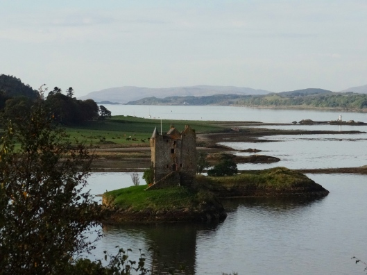 Castle Stalker - Susan's paternal relatives.