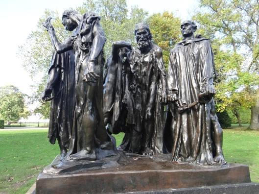Monument to the  Burghers of Calais - AR