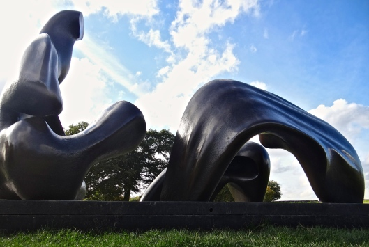 Three Piece Reclining Figure : Draped