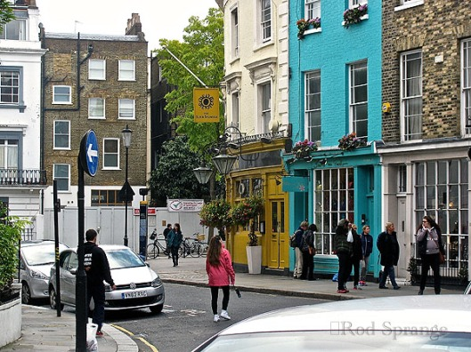 A street in Notting Hill