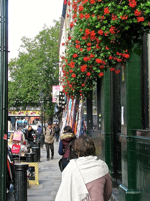 Flowers in Notting Hill
