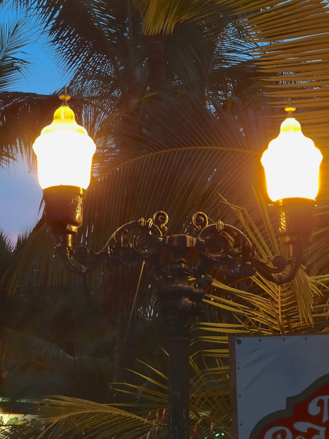 More decorative light fixtures
