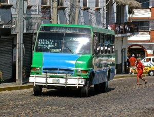 The green buses take you on wonderful adventures into unknown areas of PV Often when you least expect to go there.