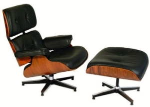 The Eame's Chair from Herman Miller (Photocredit  Wikipedia  http://en.wikipedia.org/wiki/Eames_Lounge_Chair