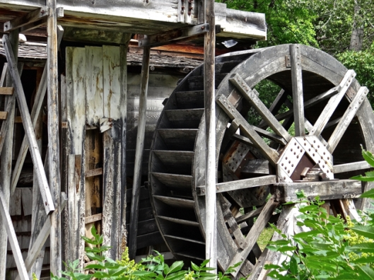 The restored water-wheel
